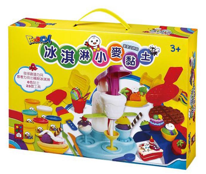 纸杯太空泥冰淇淋幼儿手工制作