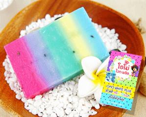 泰國超人氣水果彩虹香皂,限時1.9折,今日結帳再享加碼折扣