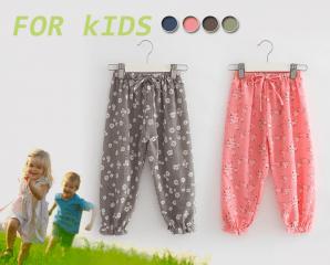 兒童休閒防蚊燈籠束口褲,限時3.3折,今日結帳再享加碼折扣