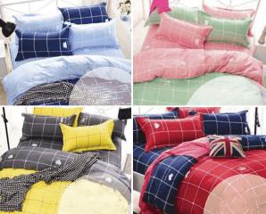 柔絲絨舖棉兩用被床包組,限時3.8折,今日結帳再享加碼折扣