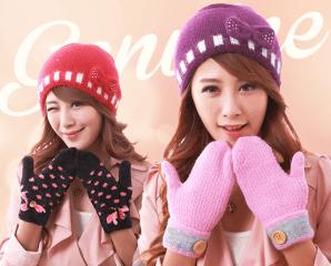台灣製保暖針織手套,限時3.5折,今日結帳再享加碼折扣
