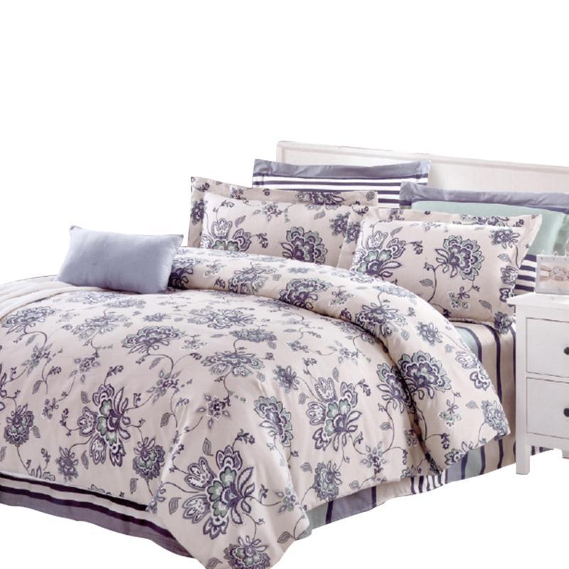 蘭夢緣五件式鋪棉床罩組,今日結帳再打85折