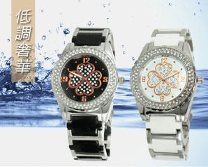 TIME WHEEL晶鑽陶瓷腕錶,限時0.8折,今日結帳再享加碼折扣