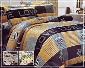 法蘭絨舖棉床包兩用被組,限時6.2折,今日結帳再享加碼折扣