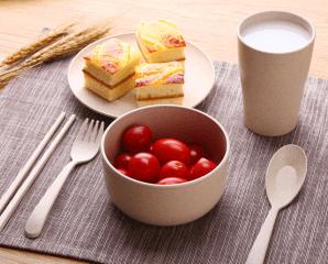北歐小麥環保餐具六件組,限時4.7折,今日結帳再享加碼折扣