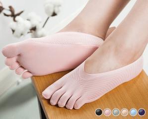 舒適透氣隱形五指船襪,今日結帳再打85折
