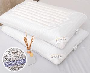 波浪型清涼白玉石頭枕,今日結帳再打88折