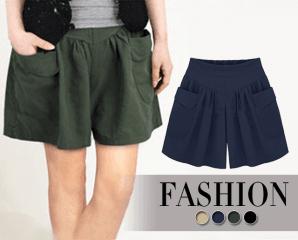 質感超顯瘦加大尺碼褲裙,限時3.4折,今日結帳再享加碼折扣
