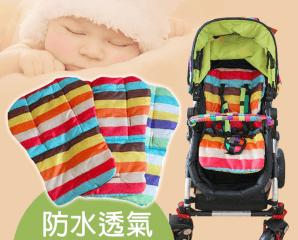 嬰兒推車彩虹棉坐墊,限時5.0折,今日結帳再享加碼折扣