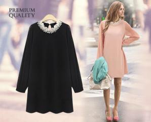 歐美時尚氣質蕾絲洋裝,限時5.0折,今日結帳再享加碼折扣