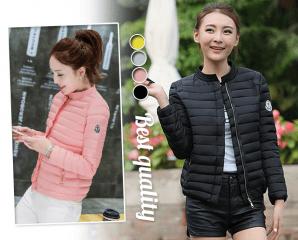 韓版保暖立領羽絨棉外套,限時6.4折,今日結帳再享加碼折扣