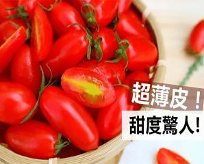 苗栗頂級溫室蜜3小蕃茄,限時7.5折,今日結帳再享加碼折扣