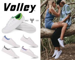 VOLLEY澳洲輕便休閒鞋情侶款/INTERNATIONAL CANVAS,今日結帳再打85折