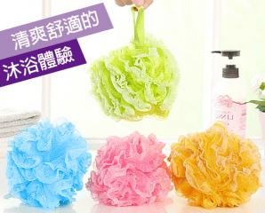 韓國蕾絲加邊清潔沐浴球,限時2.6折,今日結帳再享加碼折扣