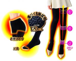 日本塑型刷毛發熱褲襪,限時4.4折,今日結帳再享加碼折扣