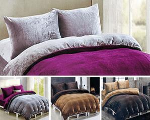 設計師法蘭絨毯被床包組,限時5.0折,今日結帳再享加碼折扣