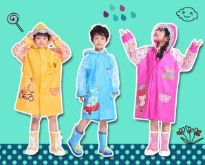 防風書包收納兒童雨衣,今日結帳再打88折