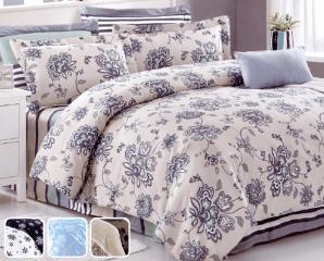 蘭夢緣五件式鋪棉床罩組,限時5.3折,請把握機會搶購!