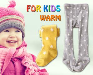 冬季兒童加厚超保暖褲襪,限時5.0折,今日結帳再享加碼折扣