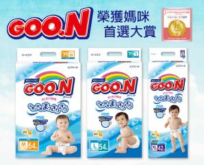 Goo n日本大王境內黏貼紙尿褲,限時7.7折,請把握機會搶購!