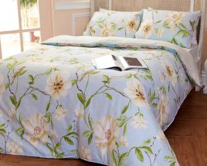 精梳棉鋪棉兩用被床包組,限時4.4折,今日結帳再享加碼折扣