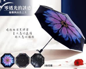 超防曬晴雨兩用黑膠傘,限時1.9折,今日結帳再享加碼折扣
