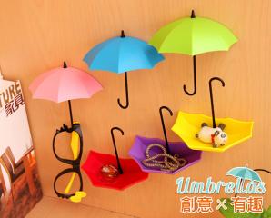 創意雨傘造型牆壁掛勾,限時1.5折,今日結帳再享加碼折扣