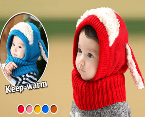 兒童保暖兩用圍脖,限時2.6折,今日結帳再享加碼折扣