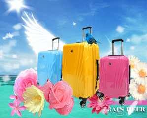 天使之翼PC鏡面行李箱,限時3.9折,今日結帳再享加碼折扣