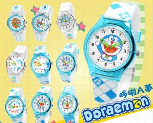 哆啦A夢果凍殼膠錶,限時3.6折,今日結帳再享加碼折扣