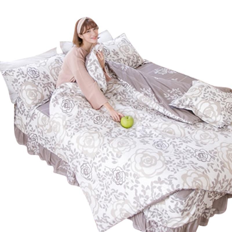 柔絲絨鋪棉床罩六件組,今日結帳再打85折