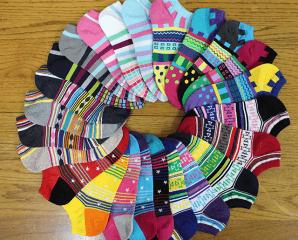 細針緹花少女棉船型襪,限時4.3折,今日結帳再享加碼折扣