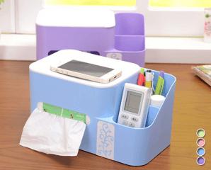 粉彩可伸縮衛生紙收納盒
