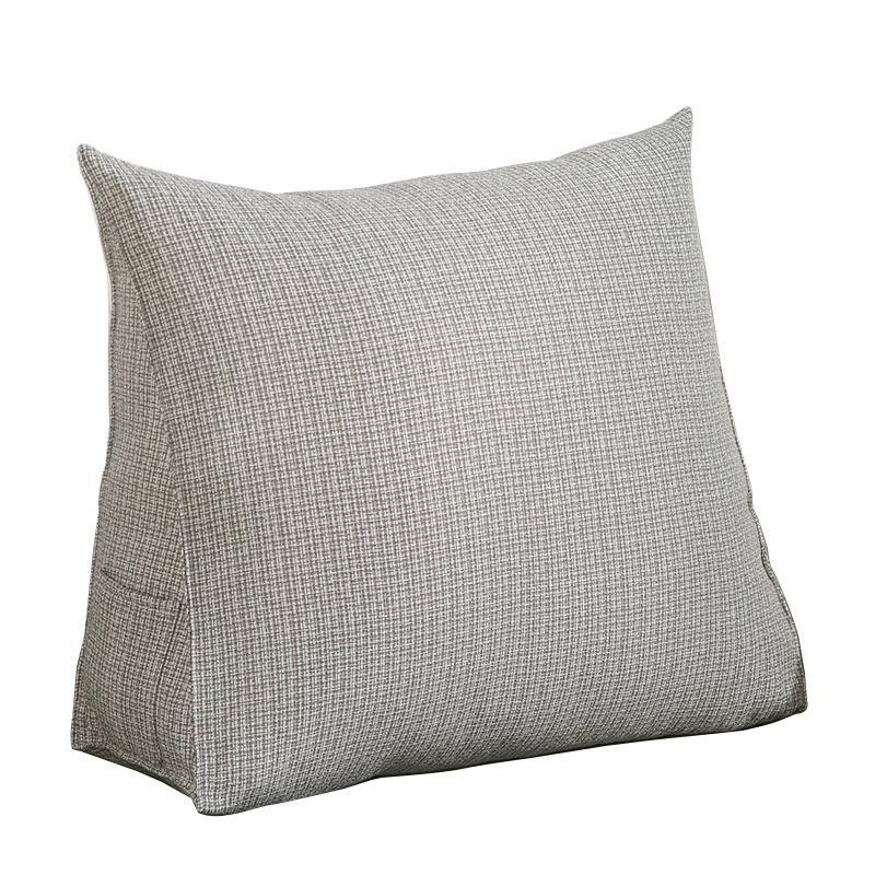 NI1881NO韓式冰絲亞麻透氣三角枕,今日結帳再打85折