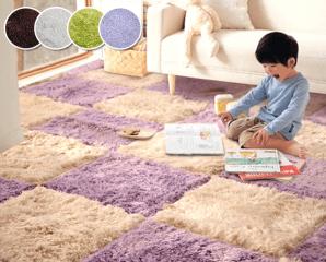 超細絨創意拼圖地毯,限時2.3折,今日結帳再享加碼折扣