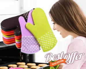 專業級烤箱專用隔熱手套,限時5.6折,今日結帳再享加碼折扣