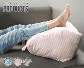 韓系舒壓三角立體抬腿枕,限時5.0折,今日結帳再享加碼折扣