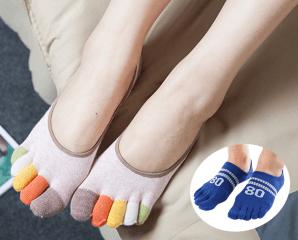 男女款防腳臭五趾隱形襪,今日結帳再打85折