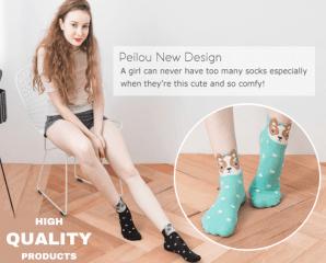 韓風立體造型少女襪,限時2.7折,今日結帳再享加碼折扣