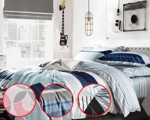 精梳棉防螨兩用被床包組,限時3.7折,今日結帳再享加碼折扣