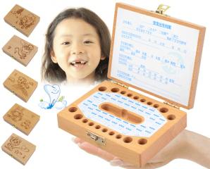 純手工木製乳牙保存盒,限時2.7折,今日結帳再享加碼折扣