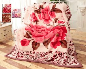 嚴選雙層細絨櫻花毯,限時3.2折,今日結帳再享加碼折扣