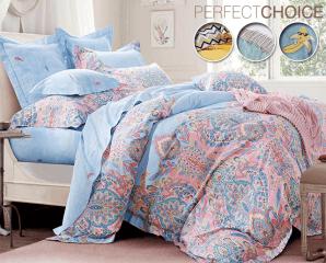 精梳棉抗菌兩用被床包組,限時3.6折,請把握機會搶購!